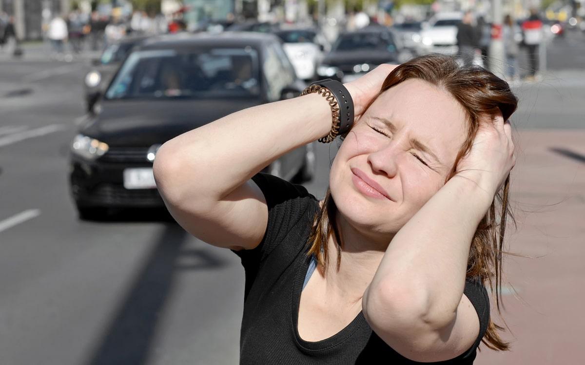 Verkehrslärm kann den Körper schädigen